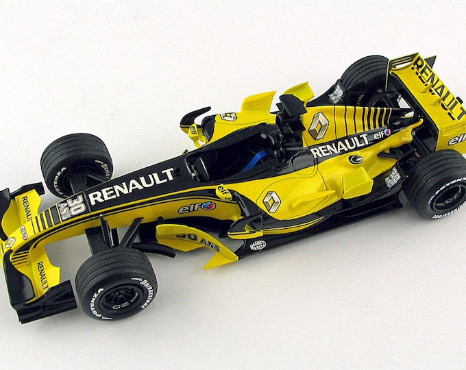 Renault R26 Formula 1 Silverstone 2007 Elf 30th anniversary Alonso or Fisichella TAMEO Kits SLK061 1:43