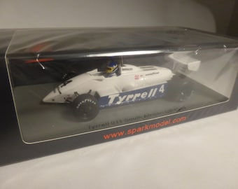 Tyrrell-Ford 011 South African GP 1982 Slim Borgudd Spark S7282 still sealed 1:43 SHIPPING OFFERED