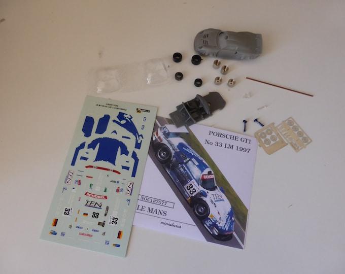 Ford Mk.IV Le Mans 1967 winner AJ Foyt/Dan Gurney Le Mans Miniatures kit 1:87 187084