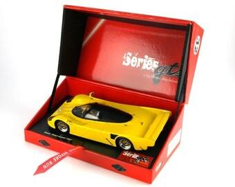 Dauer Porsche 962 yellow GTS Série Le Mans Miniatures slot car 1:32 132048M