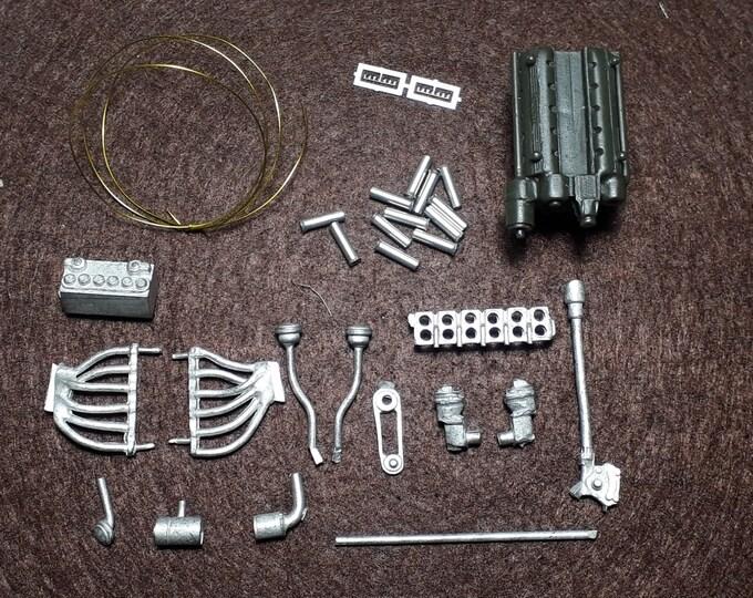 Engine kit 1:24 for Ferrari 250 GTO 3 litres Remember TK289