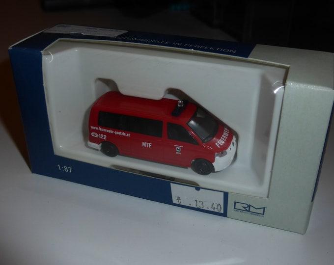 Volkswagen T5 Feuerwehr Götzis (Austria) Rietze 51832 1:87 H0