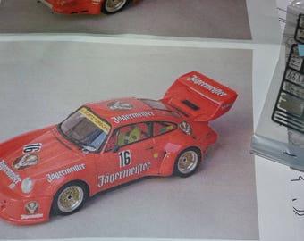 Porsche 911 Carrera RSR Gr5 Jagermeister 1000km Nurburgring 1977 Madyero 1:43 KIT K28