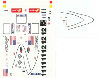 high quality 1:24 decals sheet Panoz Ford LMP Le Mans 2000 #11/12 Le Mans Miniatures DCA124031