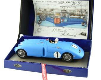 Bugatti 57C Le Mans 1939 winner Wimille/Veyron Le Mans Miniatures slot car 1:32 132011EVO/1M