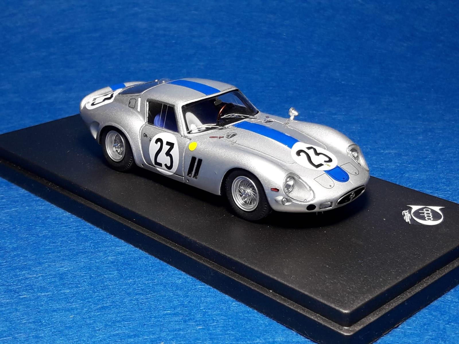 Ferrari 250 Gto 3769gt Le Mans 1962 23 Tavano Simon Remember Models 1 43 Factory Built