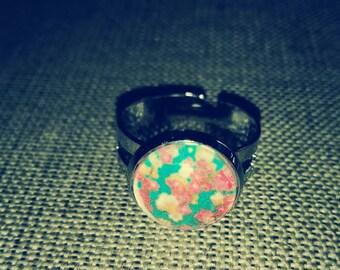 KEIKO floral ring