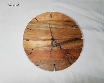 Reclaimed Wood Wall Clock