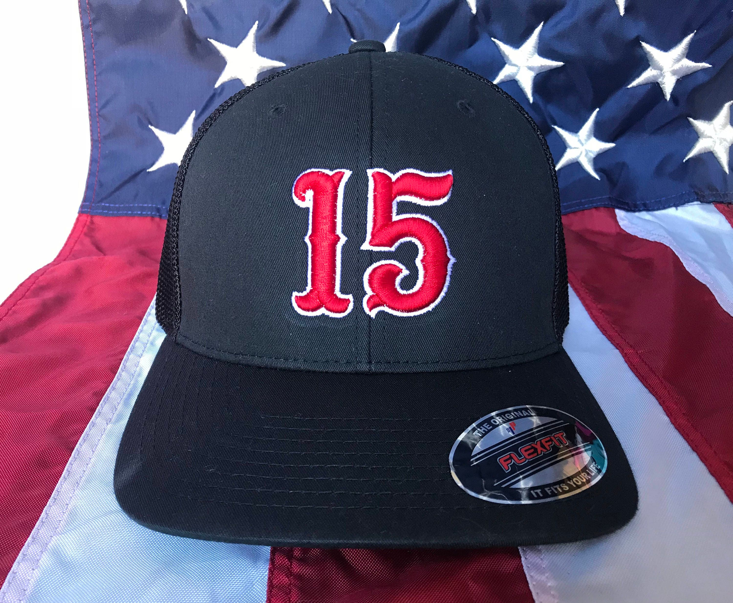 Free personalization 3D number puffed numbers embroidered hat c3b8ae1fd07