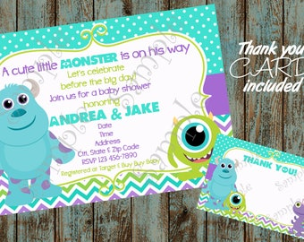 Monsters inc baby shower invitations etsy monsters inc invitation monsters inc baby shower invitation monsters inc baby monsters inc printable invitation monster baby shower filmwisefo