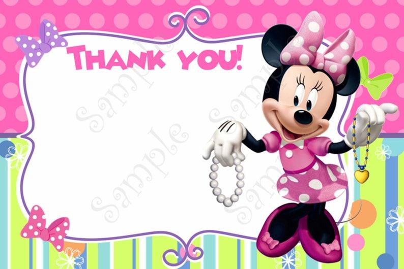 913fa891eeb94 Minnie Mouse Invitation Minnie Mouse Party Minnie Mouse