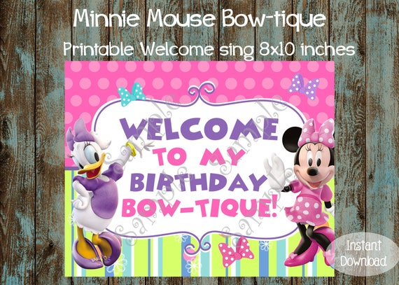 Minnie Mouse Party Package Bowtique