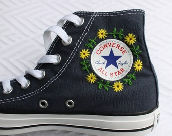 03db277d742 Floral Logo Embroidered Converse