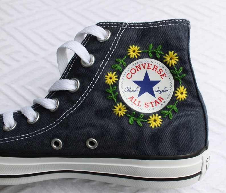 07c2551adac Floral Logo Embroidered Converse