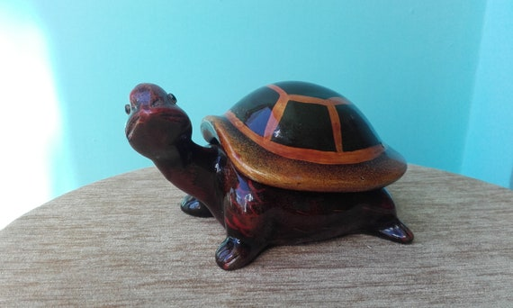 Collectable Tortoise Terrapins Turtle  Pottery Wood Ornament Various