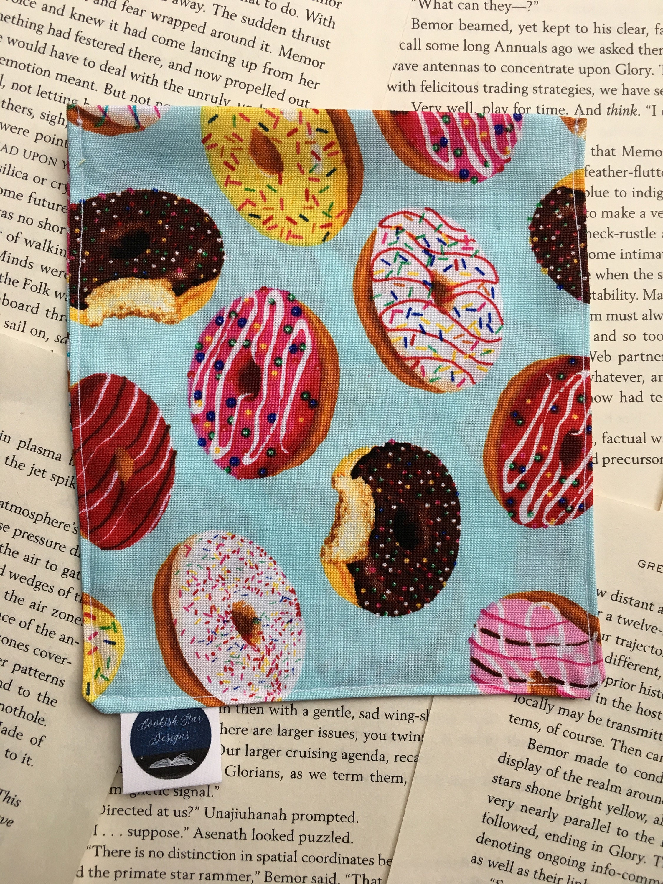 Small Rice Bag - Donut Lovers Cotton Pattern