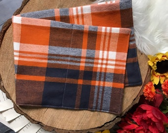 Large Rice Bag - Fall Plaid Flannel