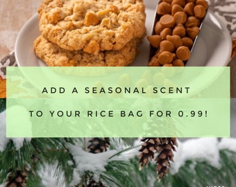 Add a Seasonal Scent to your order!