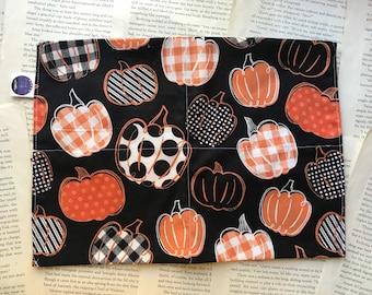 Jr. XL Rice Bag - Crafty Pumpkins Cotton Pattern