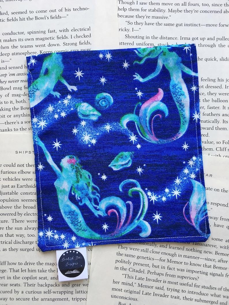 Small Rice Bag - Mermaid/Siren Cotton Pattern