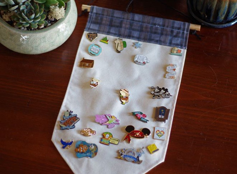 Large Pin Banners - Assorted Fabrics