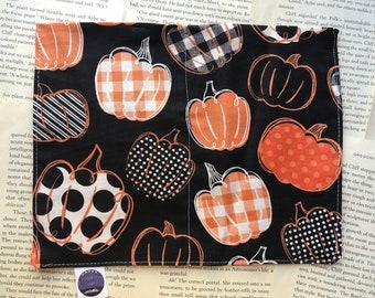 Medium Rice Bag - Crafty Pumpkins Cotton Pattern