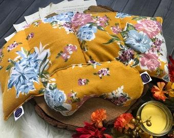 SEPT. EXCLUSIVE Set - Gold Floral Flannel