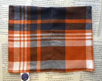 Medium Rice Bag - Fall Plaid Flannel