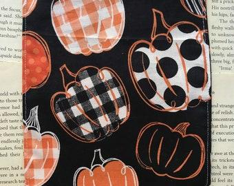 Small Rice Bag - Crafty Pumpkins Cotton Pattern