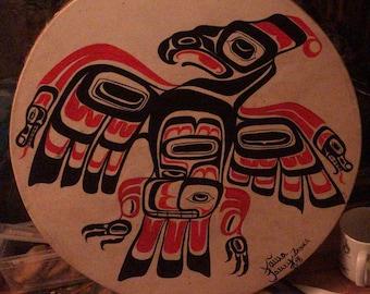 Shamandrum seed Shaman Drum Haida type