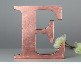 rose gold letter centerpiece letters freestanding letter rose gold decoration wedding centerpiece party centerpiece rose gold letters
