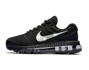 cb48e1cd16 Swarovski Nike Air Max 2017, Bling Nike Air Max, Custom Nike Shoes, Women  Shoes, Crystal Nike Shoes, Women's Running Shoes, Bling Shoes