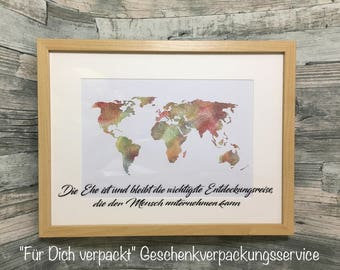 World Wedding Frame