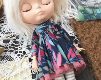 Dress for Blythe. Clothes for Blythe. Outfit for Blythe.