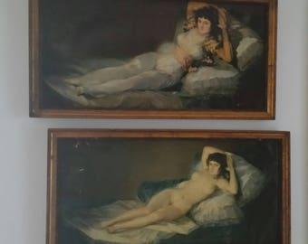 maja Francisco goya naked