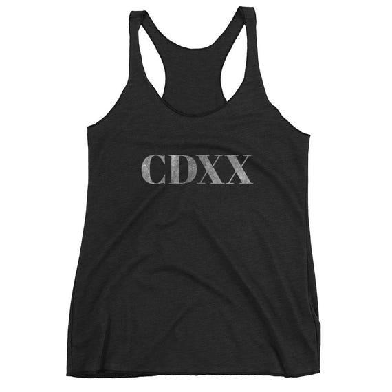 CDXX = 420 in Roman Numerals 6-Panel Cotton Cap