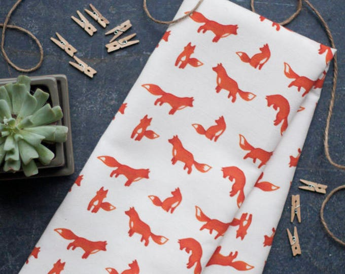 Clever Fox Dish Towel