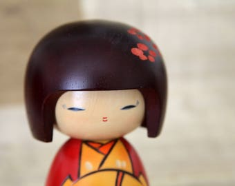 Usaburo Kokeshi - Japanese Wooden doll