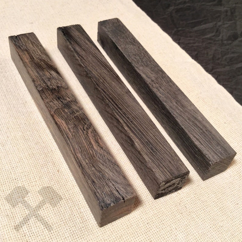 Bog OAK, Billet of wood, Precious wood, Raw Materials