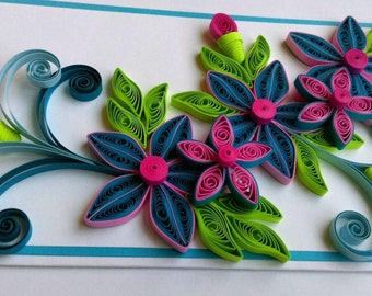 Quilled card etsy happy mothers day quilled greeting cardbirthday cardanniversary cardthank you cardhandmade quilled card m4hsunfo
