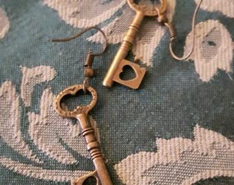 Love Unlocked Earrings