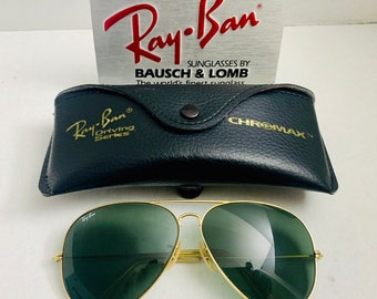 a54fbde70d Vintage Pre Owned 62mm Ray Ban Green Bausch   Lomb Usa BL   Case Original