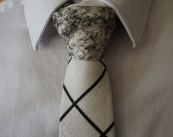 Two-Toned Tie