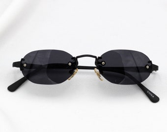 2b11508548 Tiny Oval Matrix Sunglasses