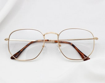 48f202fe118 Clear Square Nerd Glasses