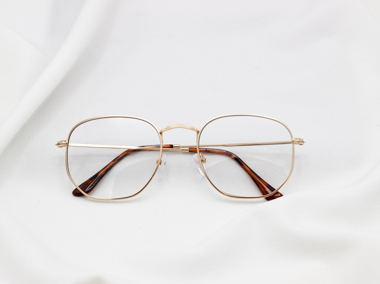 8618154d40 Clear Square Nerd Glasses Non-Prescription Fake Glasses