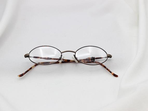 01089ba9df3 Vintage Oval 90 s Prescription Glasses Retro Glasses