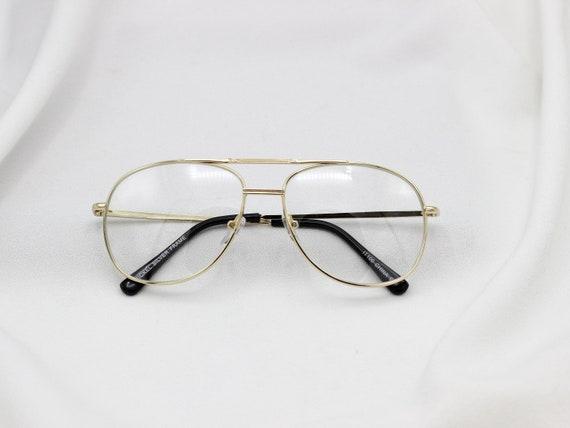 08b319e27cce Clear Aviator Nerd Glasses 80s Glasses Non Prescription image ...
