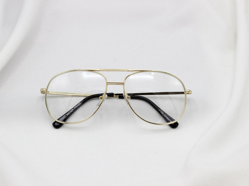 d50839dfb0 Clear Aviator Nerd Glasses 80s Glasses Non Prescription
