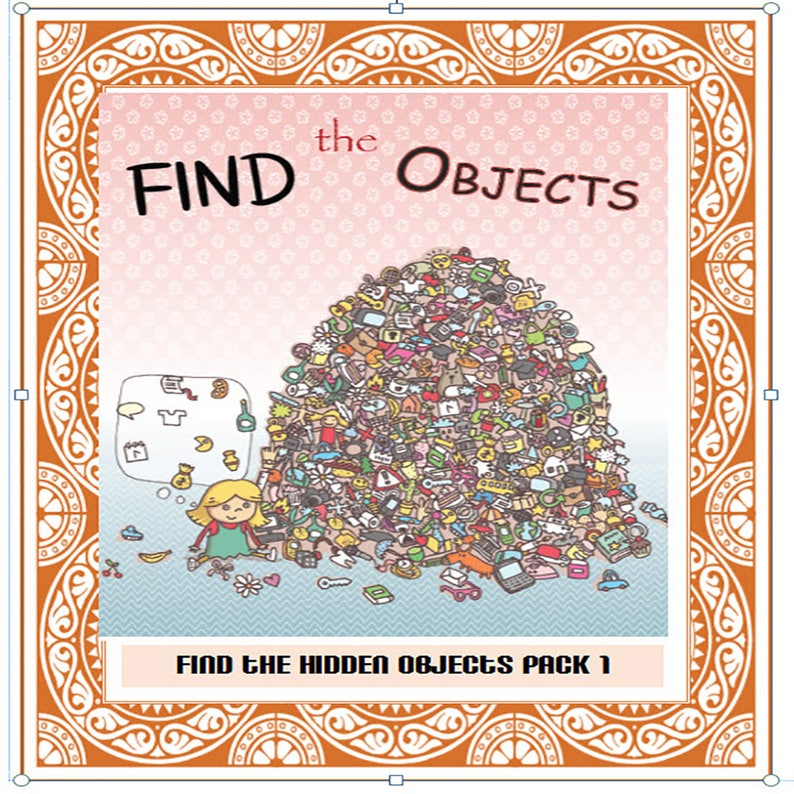 Find The Hidden Object Puzzle Etsy